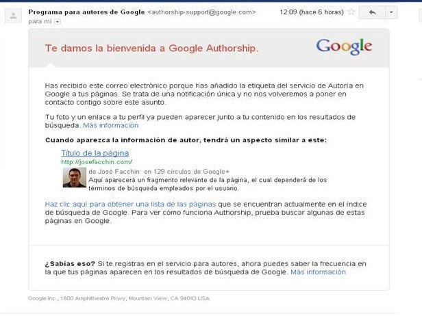Google Authorship (mail)