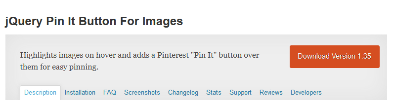 WordPress › jQuery Pin It Button For Images « WordPress Plugins 2014-06-21 21-28-26