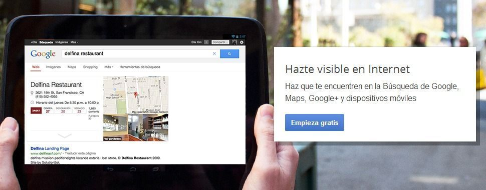 Places para empresas – Google+ Local