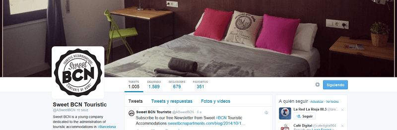 Twitter - Sweet BCN Touristic Accommodations - @ASweetBCN