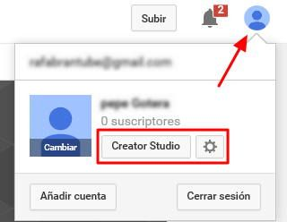 6-creator studio youtube