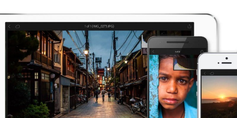 Lightroom para iOS y android