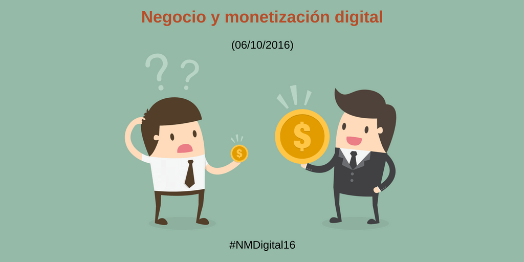 Evento de #MarketingDigital: Negocios y Monetización digital
