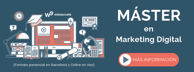 Máster Online en Marketing Digital