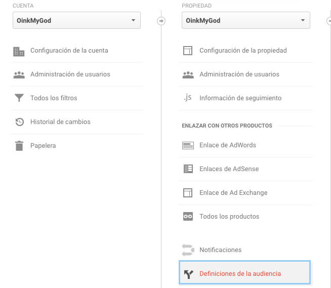 ¿Cómo crear una lista de remarketing desde Google Analytics?