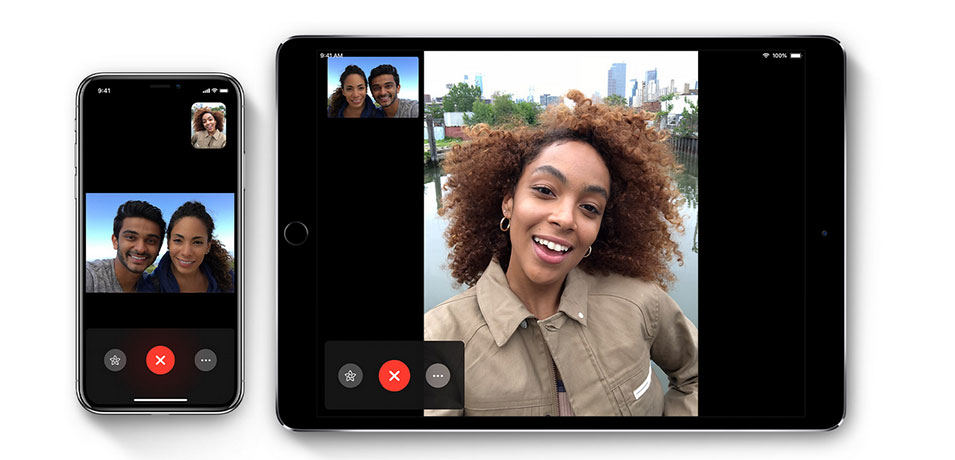 FaceTime, vídeo chat para dispositivos Apple