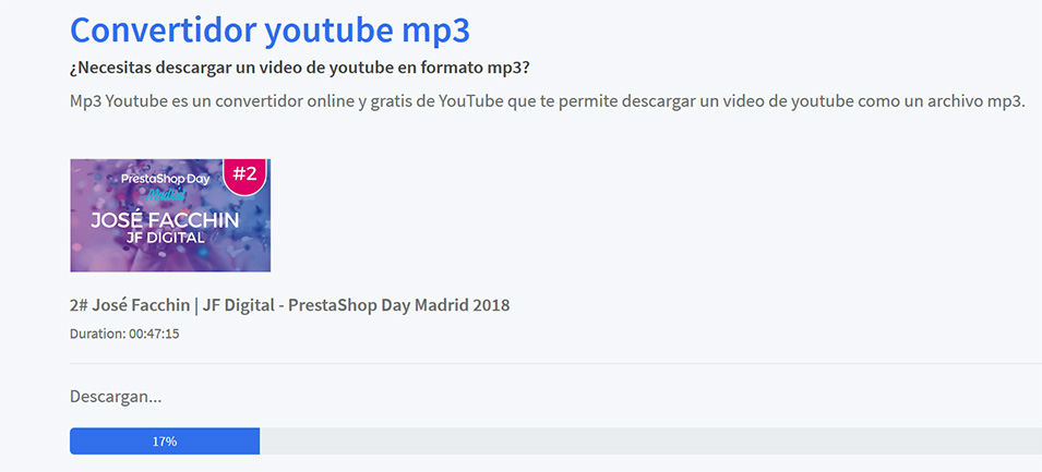 Convertidor YouTube MP3