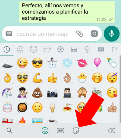 ¿Cómo enviar o usar Stickers en WhatsApp desde Android o iPhone?