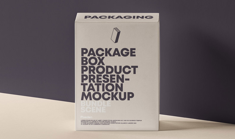 MockUp de packaging