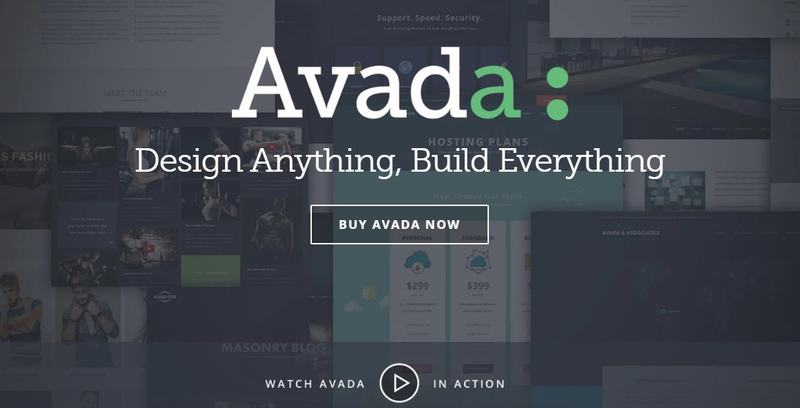 Avada - best WordPress templates